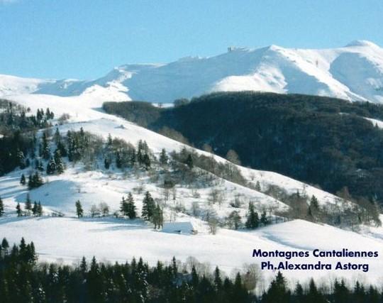 Monts du Cantal...